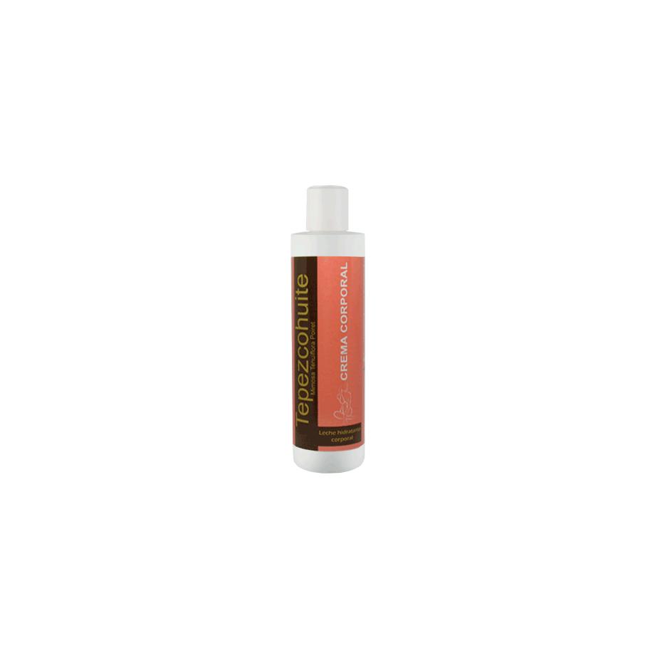 Crema corporal Tepezcohuite